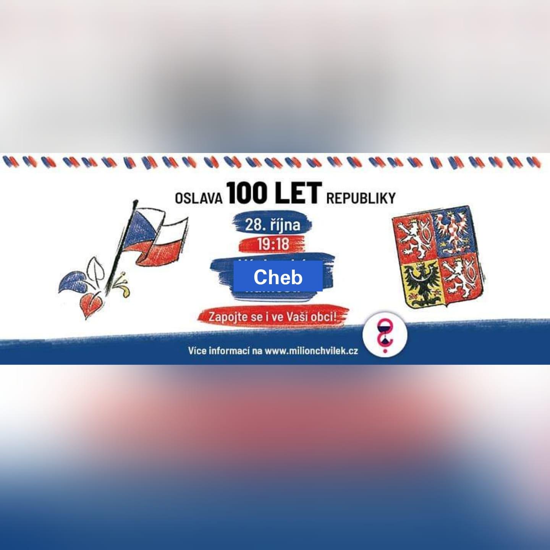 Oslava 100 let republiky Cheb