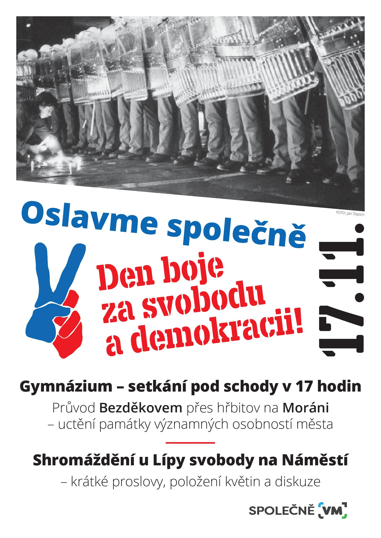 Den boje za svobodu a demokracii VM