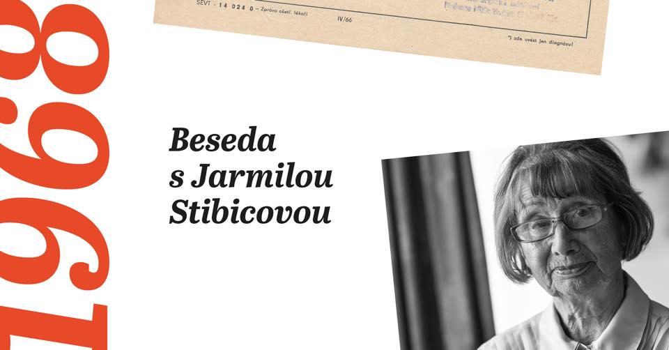 Pardubické osmičky - Beseda s Jarmilou Stibicovou