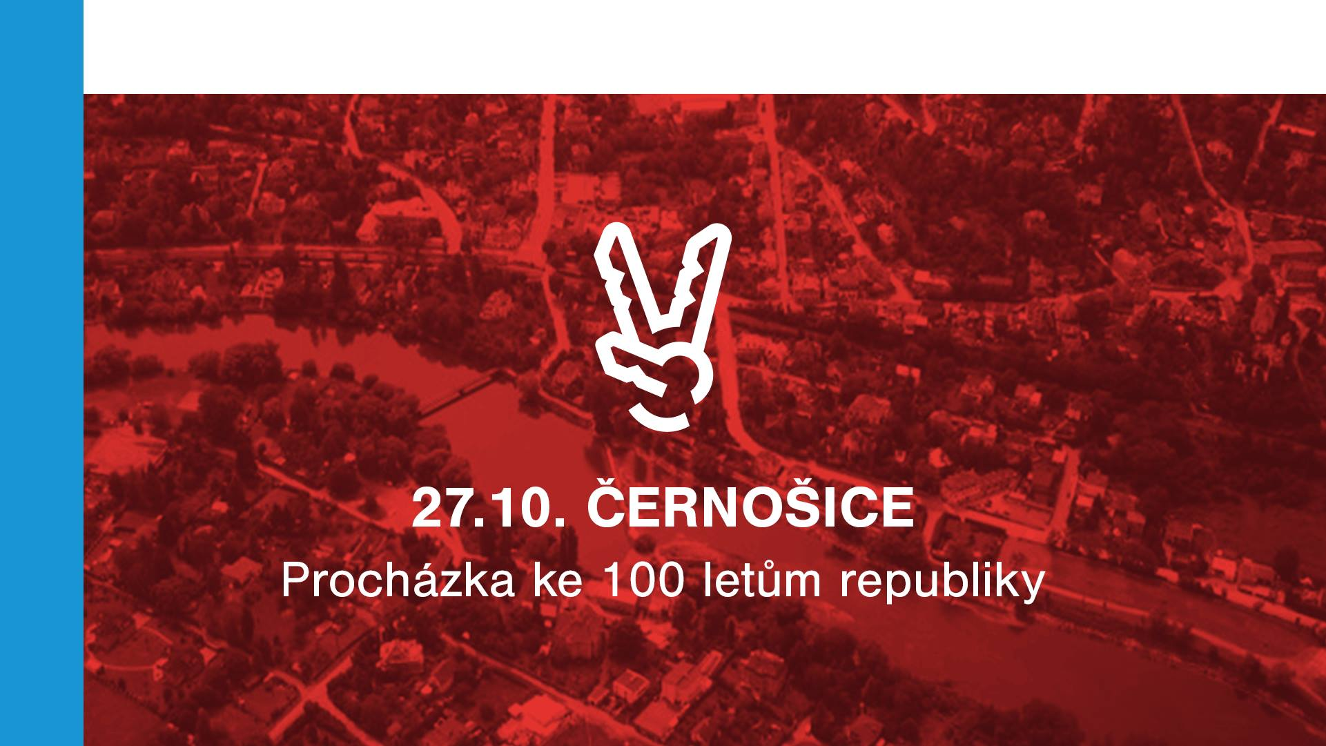 Procházka Černošicemi ke 100 letům republiky