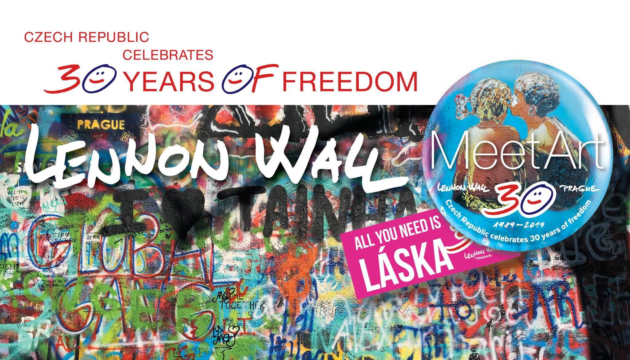Zahájení oslav 30 YEARS OF FREEDOM v České republice