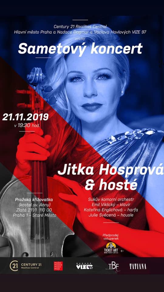Sametový koncert - Jitka Hosprová a hosté