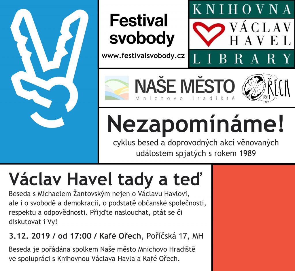 Václav Havel tady a teď - Michael Žantovský