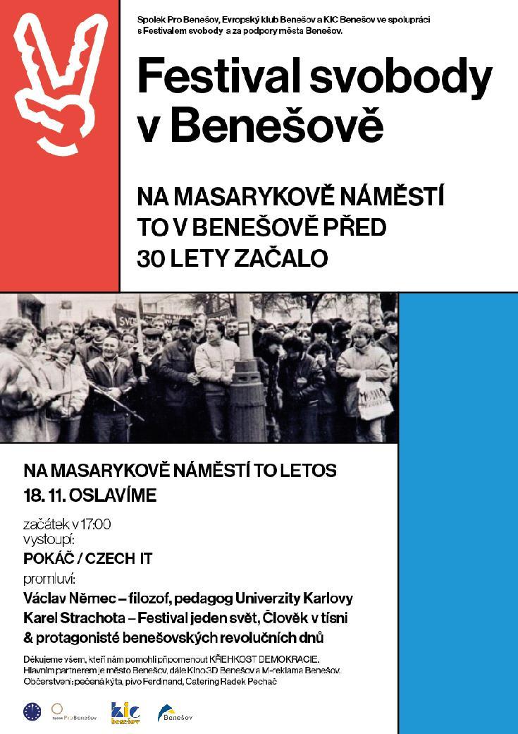 Oslavy svobody v Benešově