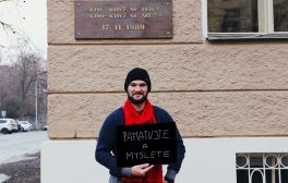 Michal Zima, Praha - Svobodný listopad